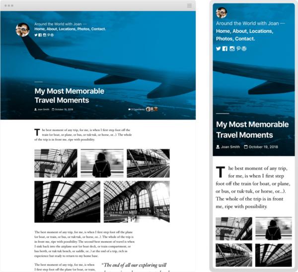 WordPress-Theme Twenty Nineteen