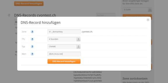 Einfach eingerichtet: DNS-Eintrag um DKIM für Mailchimp zu aktivieren