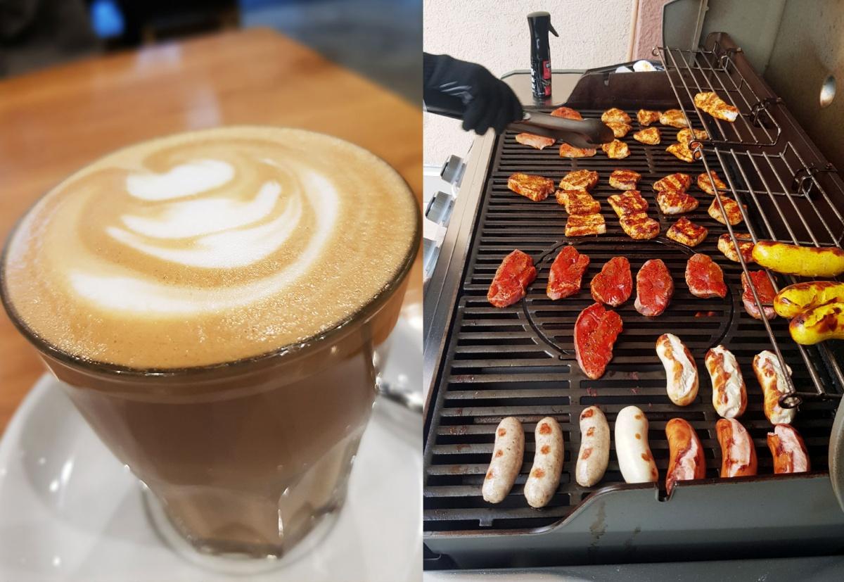 Kaffee und Grill werden vernachlässigt